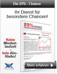 Die 25%-Chance